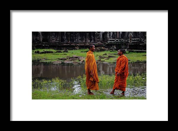 Southeast Asia Framed Print featuring the photograph Cambodia by Rawpixel