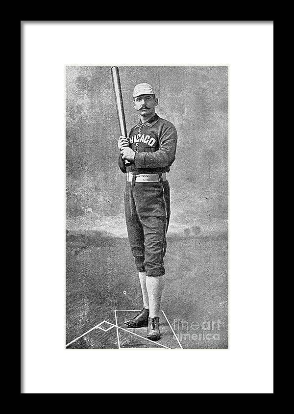 People Framed Print featuring the photograph Cap Anson Full Figure by Transcendental Graphics