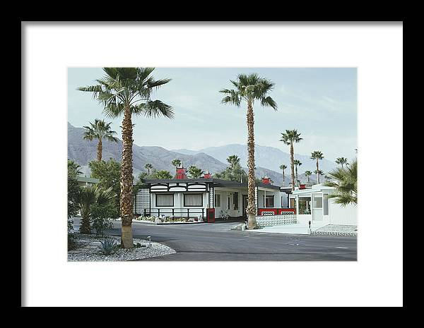 Suburb Framed Print featuring the photograph Capotes House by Slim Aarons