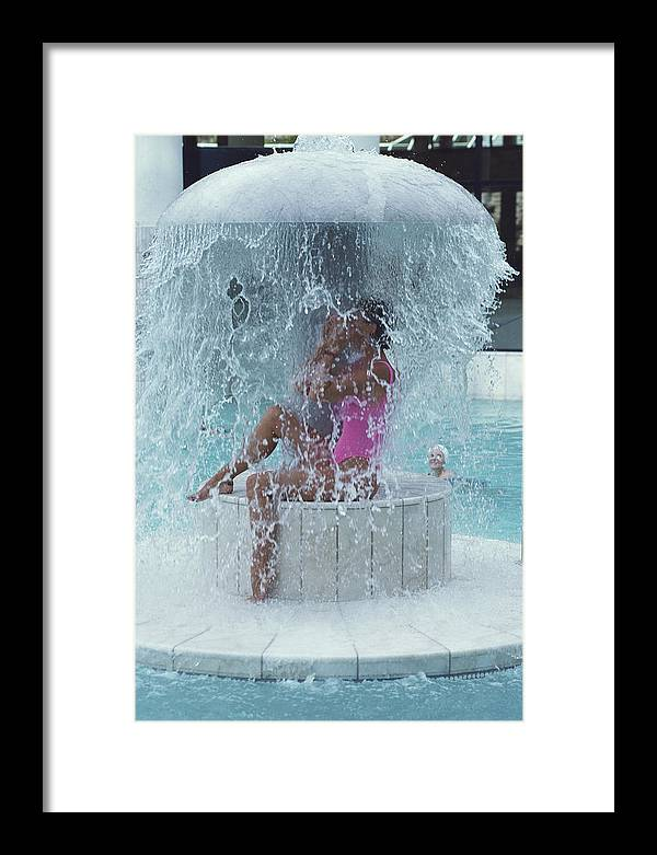 Baden-baden Framed Print featuring the photograph Caracalla Therme by Slim Aarons