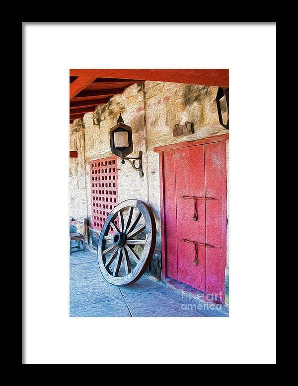Cartagena Framed Print featuring the digital art Castillo San Felipe De Barajas Fort II by Kenneth Montgomery