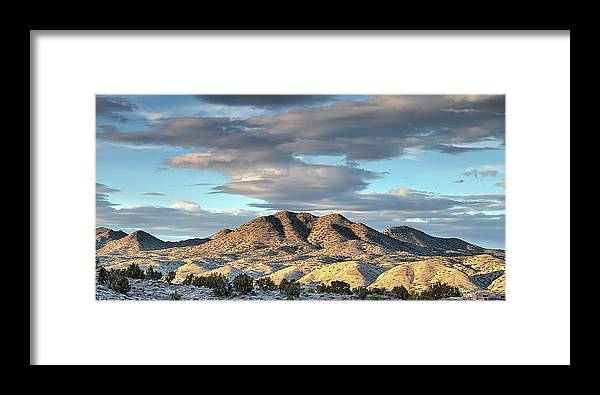 New Mexico Framed Print featuring the photograph Cerrillos Hills by JC Findley