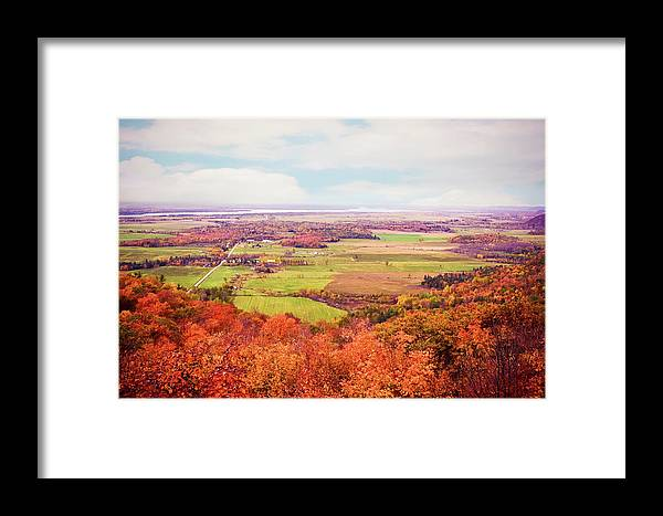 Tranquility Framed Print featuring the photograph Champlain Lookout In Gatineau Park by Preappy