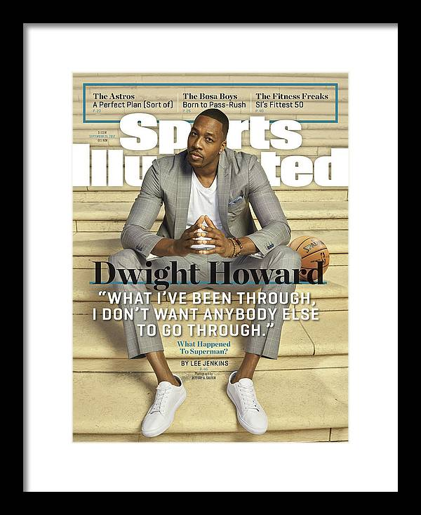 Atlanta Framed Print featuring the photograph Charlotte Hornets Dwight Howard Sports Illustrated Cover by Sports Illustrated