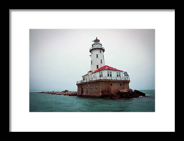 Lighthouse Framed Print featuring the photograph Chicago Lighthouse by Fred DeSousa