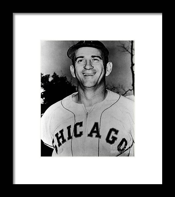 People Framed Print featuring the photograph Chicago White Sox by The Stanley Weston Archive