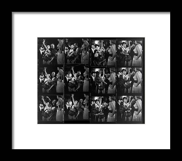 Working Framed Print featuring the photograph Choereographer George Balanchine by Gordon Parks