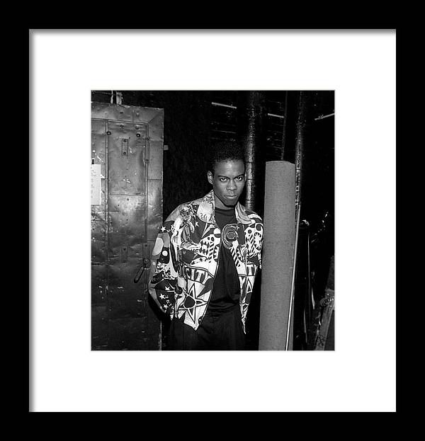 Artist Framed Print featuring the photograph Chris Rock Live In Chicago by Raymond Boyd