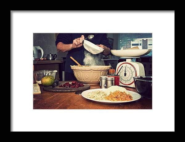 Dublin Framed Print featuring the photograph Christmas Cake Making by Image By Catherine Macbride