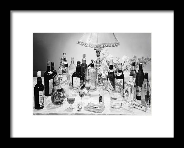 Milk Framed Print featuring the photograph Christmas Drinks by Chaloner Woods