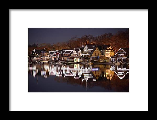 Holiday Framed Print featuring the photograph Christmas Lights by Denistangneyjr