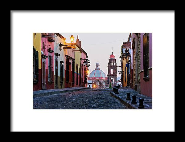 Latin America Framed Print featuring the photograph Church Of San Francisco, Looking Up by Jeremy Woodhouse