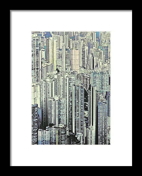 City Framed Print featuring the photograph City by Gillis Cone