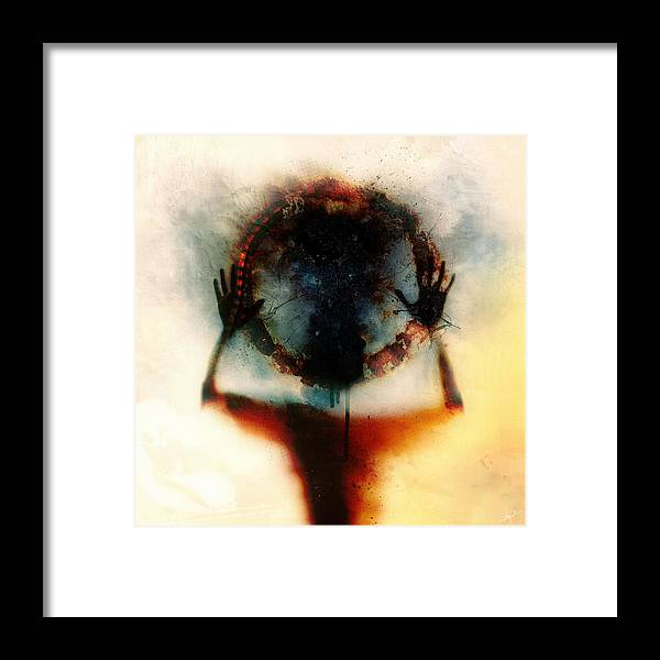 Identity Framed Print featuring the digital art Closer by Mario Sanchez Nevado