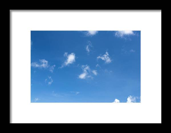 Scenics Framed Print featuring the photograph Clouds Xl by Dstephens