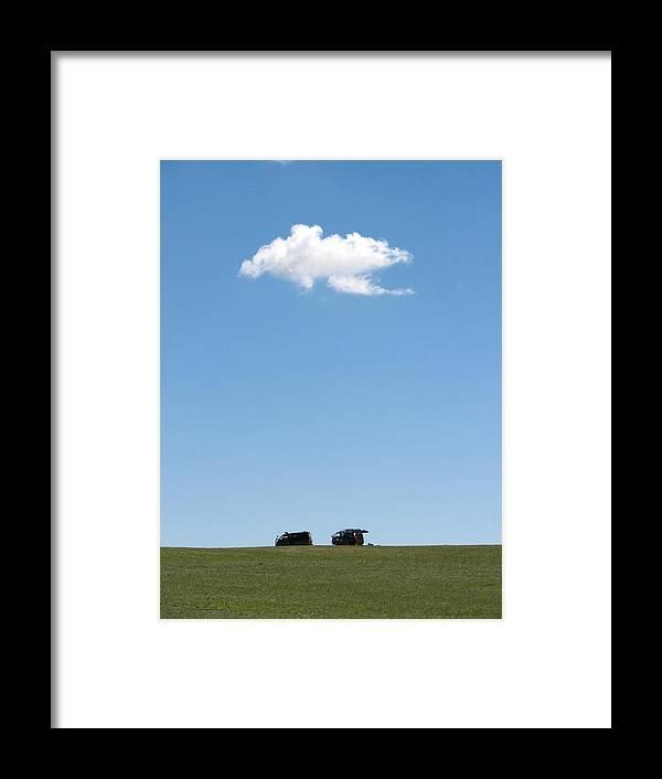 Grass Framed Print featuring the photograph Cloudy by Wilhelm Bénard