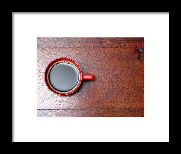 Motivation Framed Print featuring the photograph Coffee Chill Out by Fotografiabasica