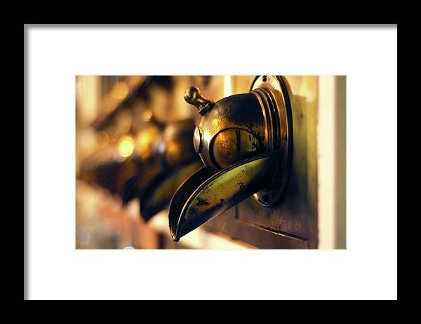 North Carolina Framed Print featuring the photograph Coffeemills by Dawn D. Hanna