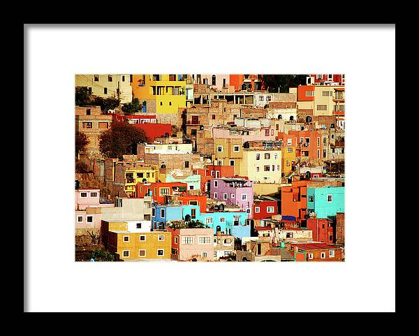 Tranquility Framed Print featuring the photograph Colors On Hill by Nan Zhong