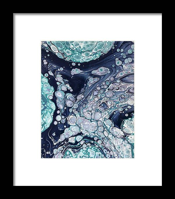 Acrylic Framed Print featuring the painting Cooling Off By Teresa Wilson by Teresa Wilson