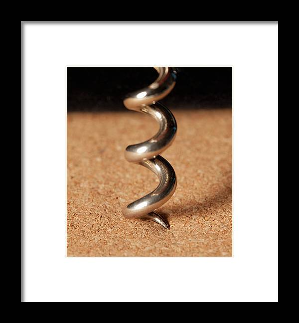 Corkscrew Framed Print featuring the photograph Corkscrew by Yasuhide Fumoto
