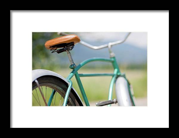 Tranquility Framed Print featuring the photograph Cruiser Bicycle by Rocksunderwater