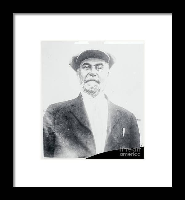 Drowning Framed Print featuring the photograph Cult Leader Peter Verebrin by Bettmann