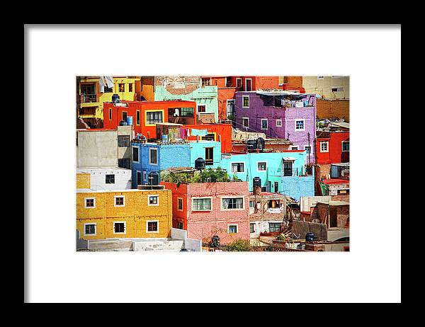 Stone Wall Framed Print featuring the photograph Cultural Colonial Cities Of Mexico by Www.infinitahighway.com.br