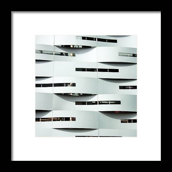 Curve Framed Print featuring the photograph Curvilinear by Neaz Ahmed