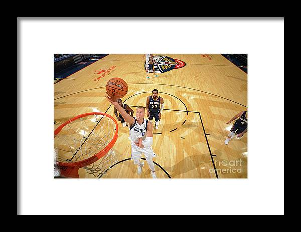 Smoothie King Center Framed Print featuring the photograph Dallas Mavericks V New Orleans Pelicans by Jesse D. Garrabrant