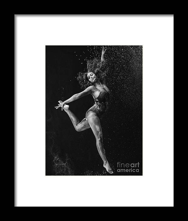 Ballet Dancer Framed Print featuring the photograph Dancing Is A Form Of Visual Art by Tassii
