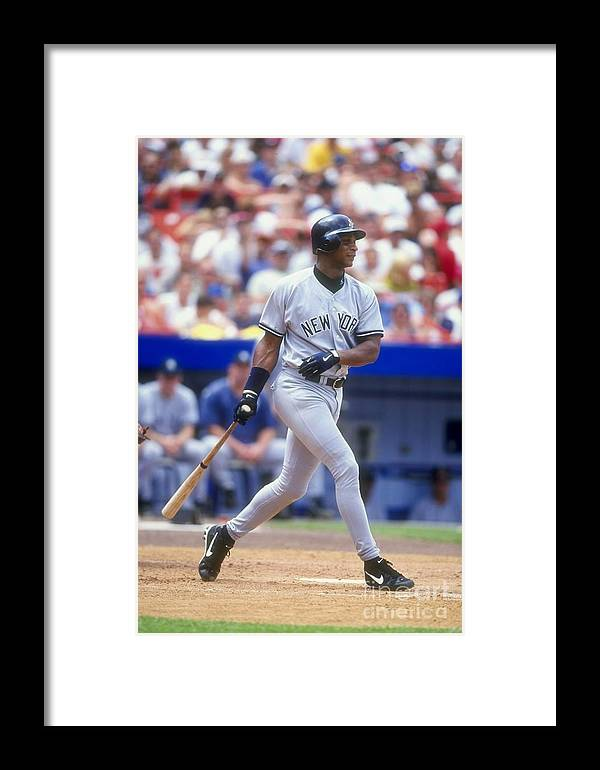 People Framed Print featuring the photograph Darryl Strawberry 39 by David Seelig