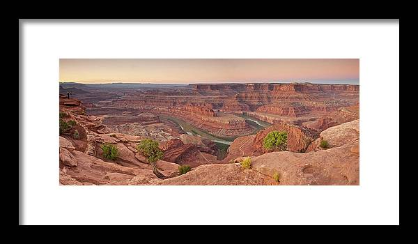 Scenics Framed Print featuring the photograph Dead Horse Point State Park, Utah by Enrique R. Aguirre Aves