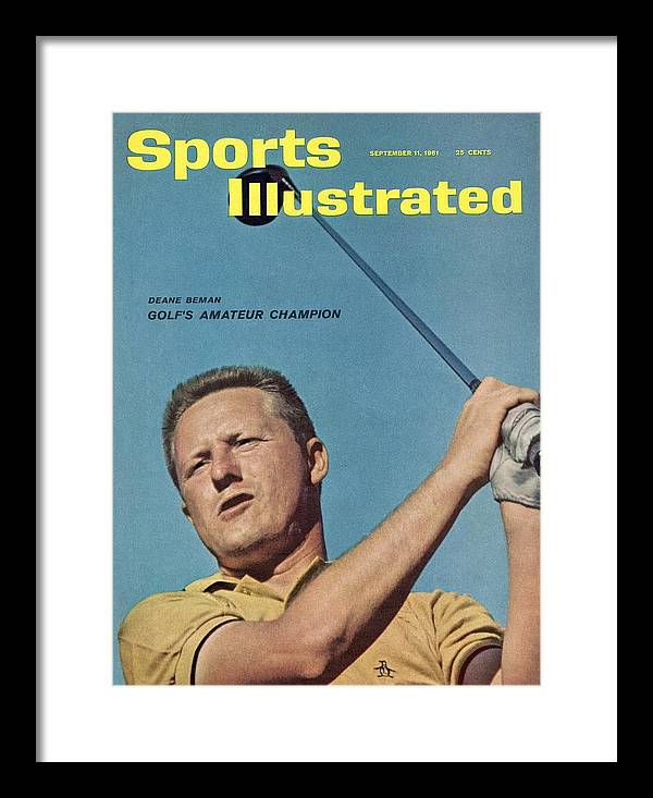 Bethesda Framed Print featuring the photograph Deane Beman, Amateur Golf Champion Sports Illustrated Cover by Sports Illustrated