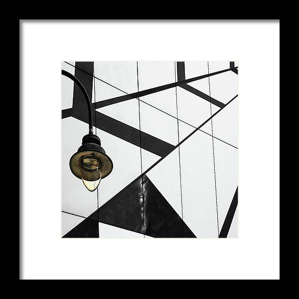 Abstract Framed Print featuring the photograph Deco-light by Gilbert Claes