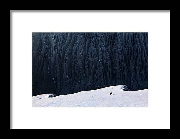 Mountain Framed Print featuring the photograph Deep In Canyon by Bj Yang