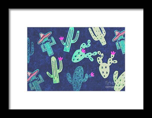 Desert Framed Print featuring the photograph Desert Nights by Jorgo Photography - Wall Art Gallery