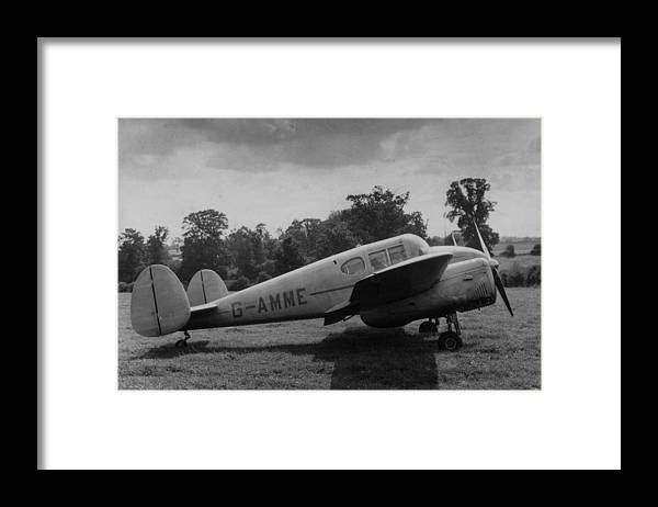 Director Framed Print featuring the photograph Directors Plane by Charles Hewitt