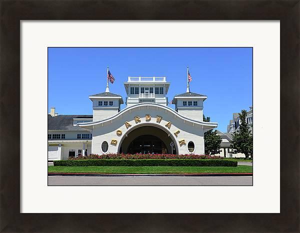 Disney's Boardwalk Resort entrance by David Lee Thompson