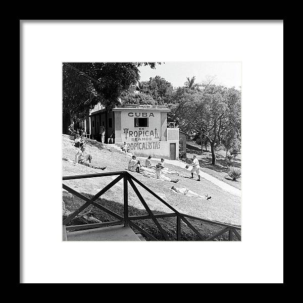 Timeincown Framed Print featuring the photograph Dodgers Spring Training by William Vandivert
