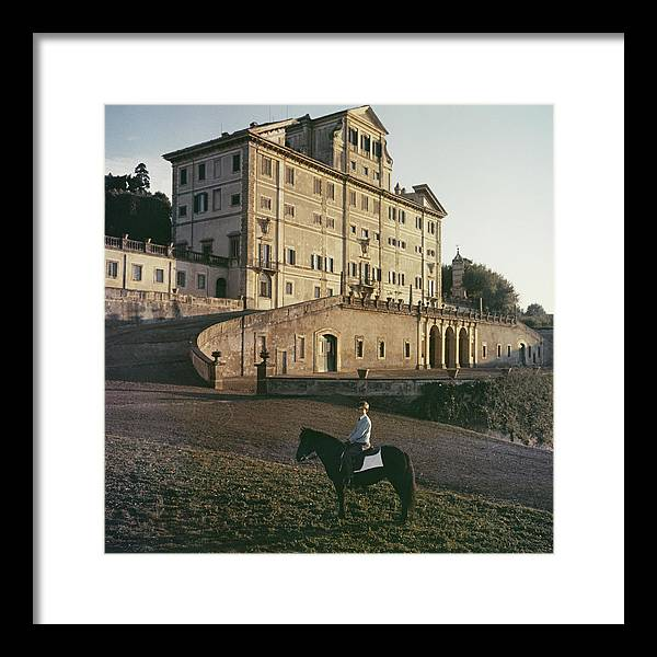 Horse Framed Print featuring the photograph Don Giovanni by Slim Aarons