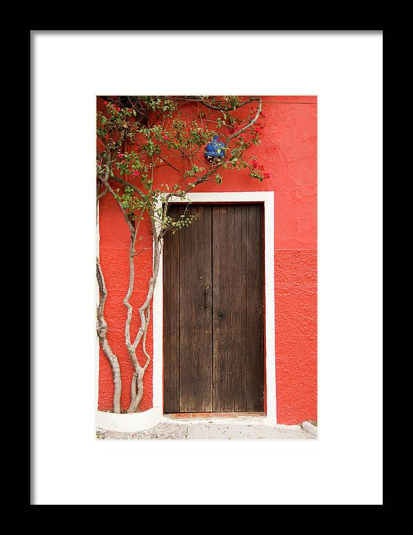 Built Structure Framed Print featuring the photograph Doorway by Livingimages