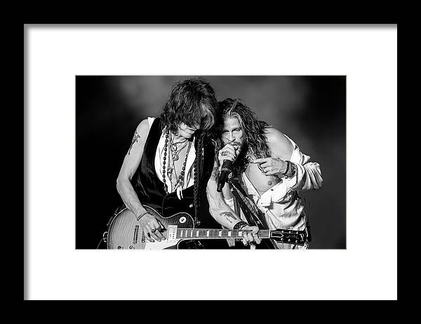 People Framed Print featuring the photograph Download Festival 2014 - Day 3 by Neil Lupin