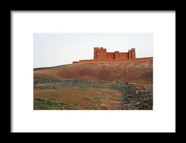 Ksar Framed Print featuring the photograph Draa Valley Casbah by Robertogennaro