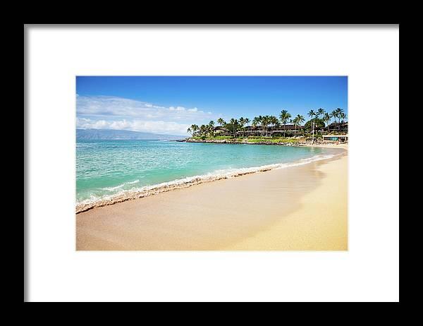 Lahaina Framed Print featuring the photograph Dream Beach Napili Bay Maui Hawaii by Mlenny