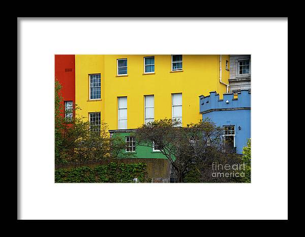 Dublin Framed Print featuring the photograph Dublin Castle Colors Two by Bob Phillips