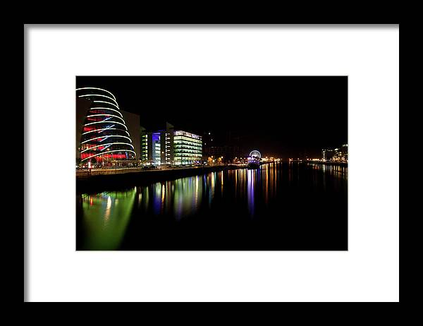Dublin Framed Print featuring the photograph Dublin City Along Quays by Image By Daniel King