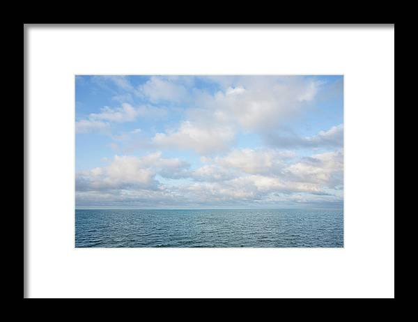 Tranquility Framed Print featuring the photograph Early Morning, Nantucket Sound by Nine Ok
