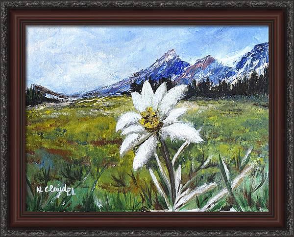Edelweiss by Natacha Claudel