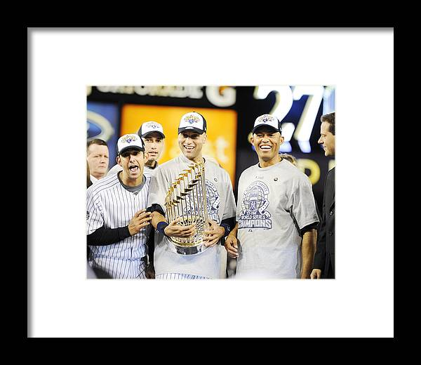 The End Framed Print featuring the photograph Eight Years To The Day His Blown Save by New York Daily News Archive